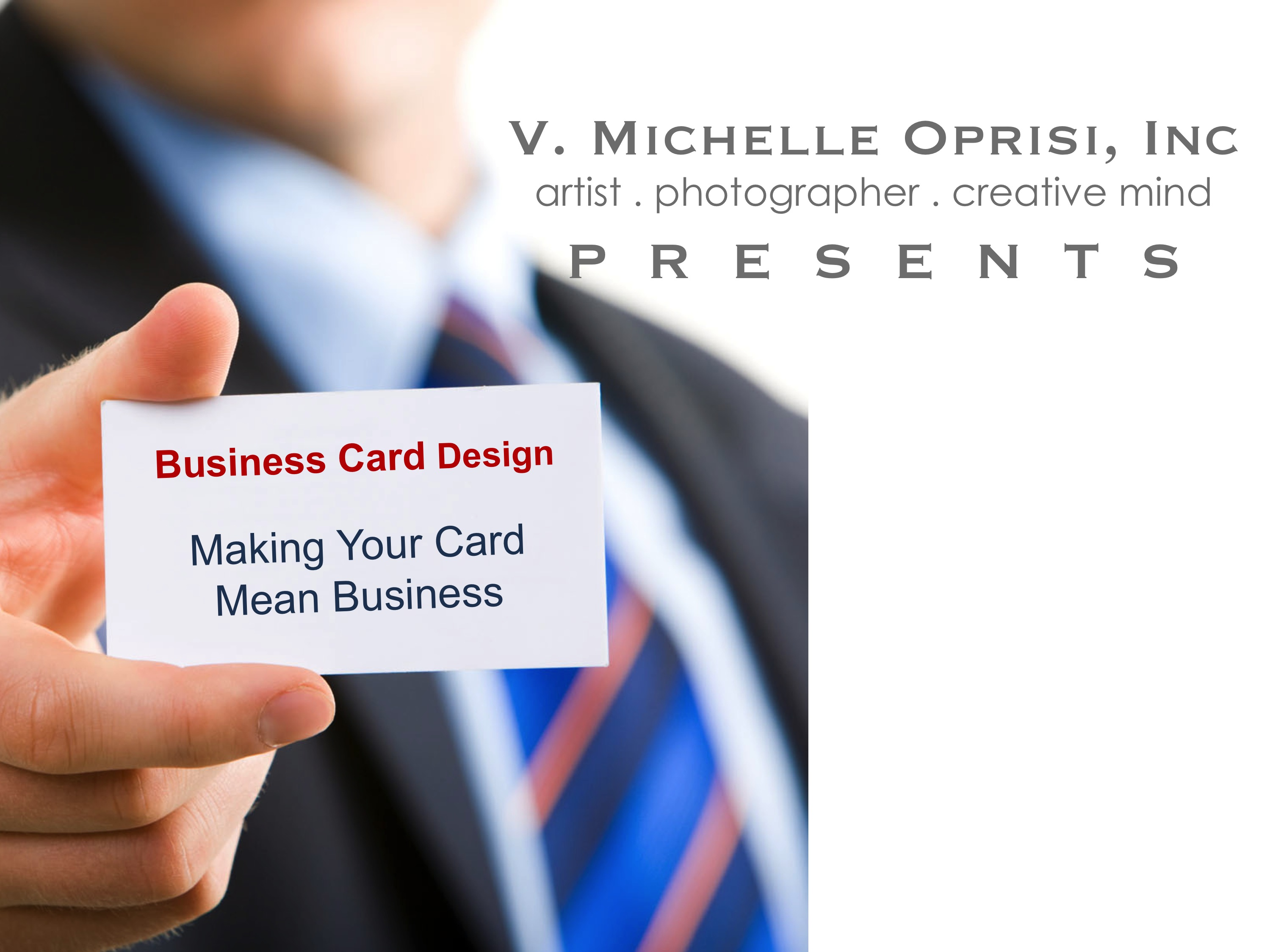 Business card design archives v michelle oprisi inc making your business cards mean business colourmoves